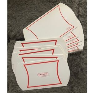 💕3/$25 10x Coach Pillow Gift Boxes